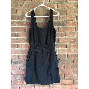 Casual elastic waist mini dress (Tall)